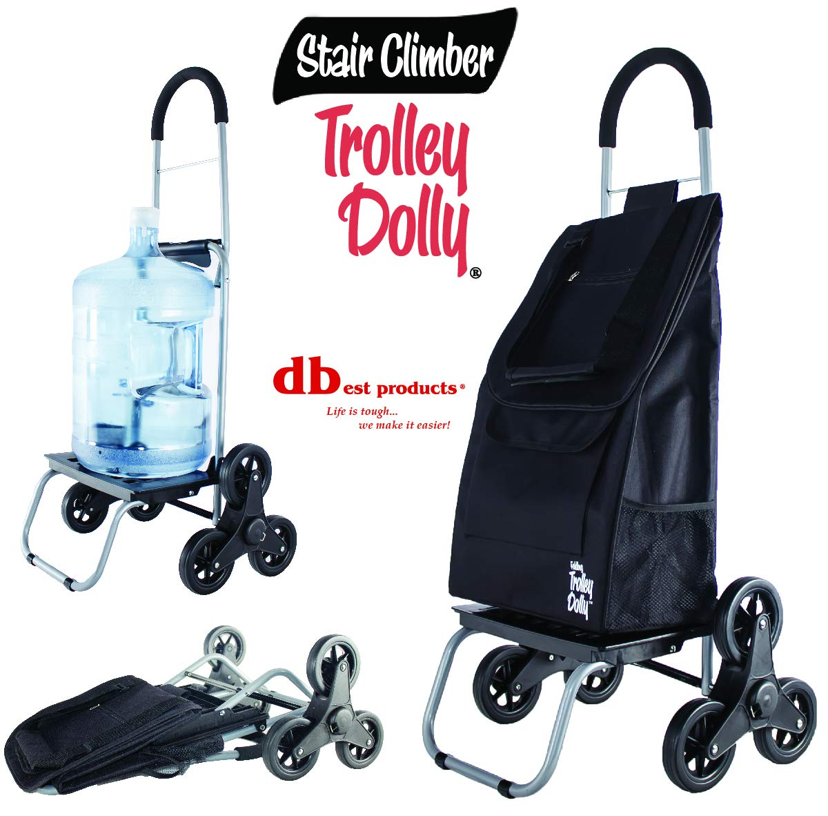 Dbest products Stair Climber Trolley Dolly