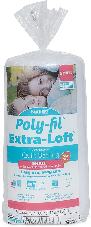 Fairfield X45b Bonded Polyester Batting Crib