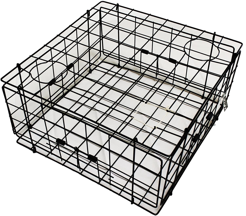 "KUFA Vinyl coated Crab Trap (24""x24""x12""H) S60"