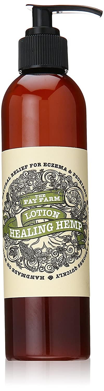 The Fay Farm's Organic Healing Hemp Lotion 8 Oz