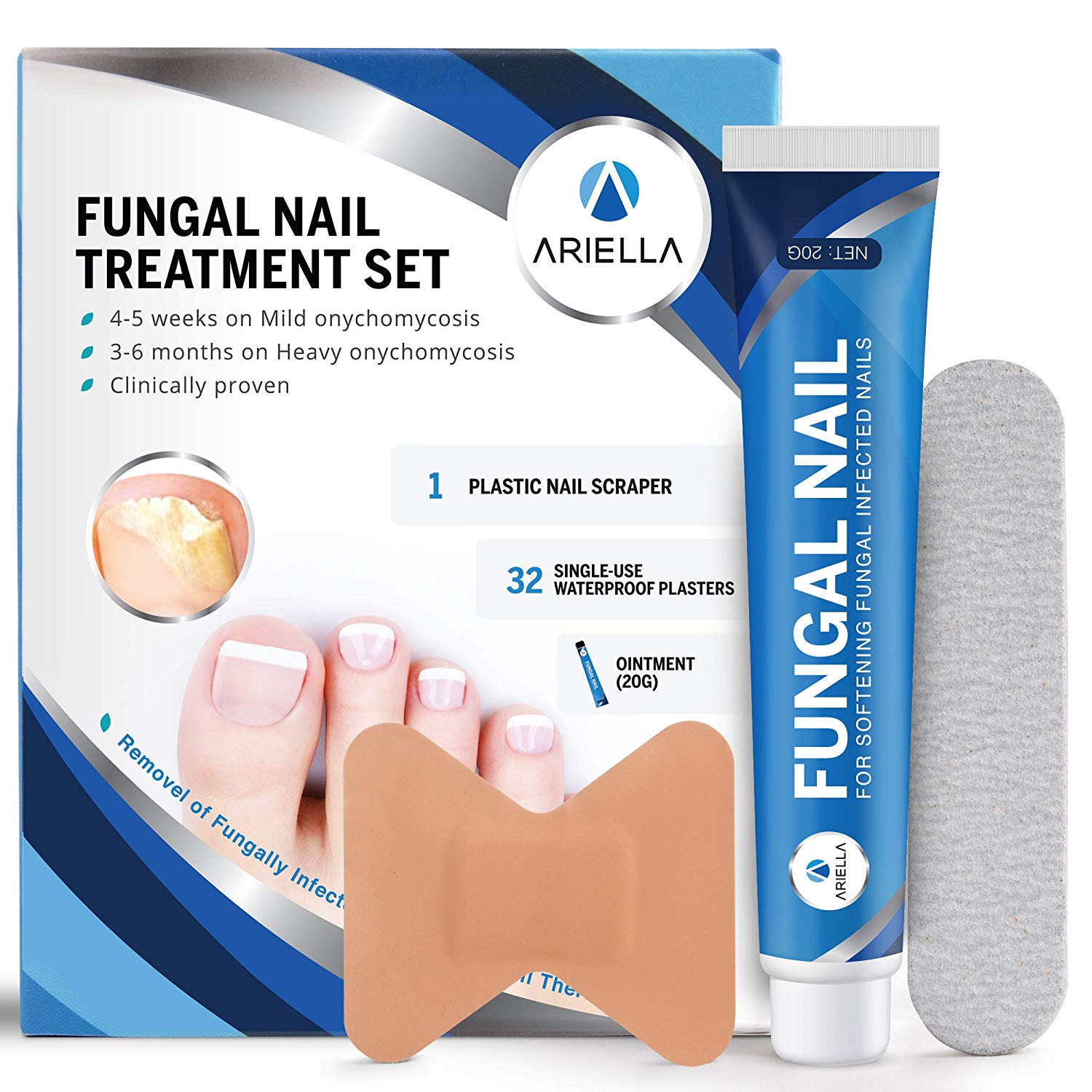 Ariella Toenail Protects Discoloration Fingernail