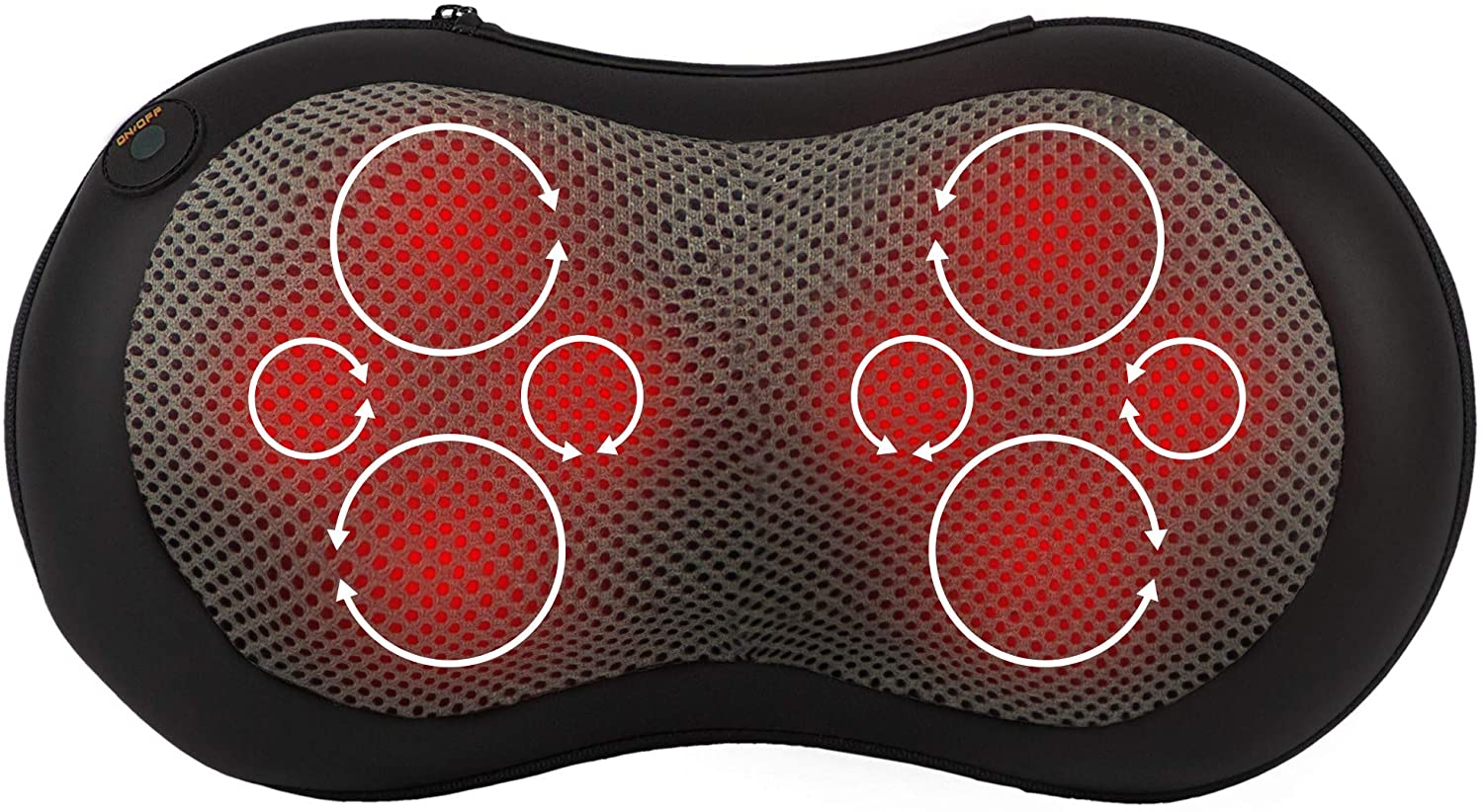 Gideon™ Shiatsu Deep Kneading Massage Pillow