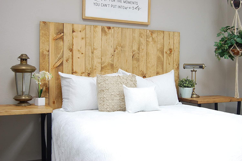 Barn Walls Golden Oak Headboard