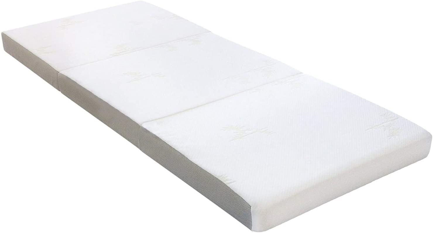 Milliard Tri Folding Mattress with Washable Cover, Cot Size (75 inches x 31 inches x 4 inches)
