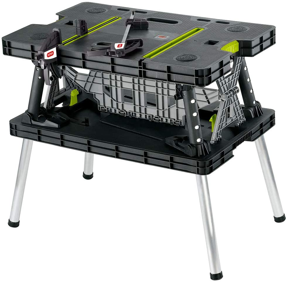 Keter Portable Folding Garage Workbench