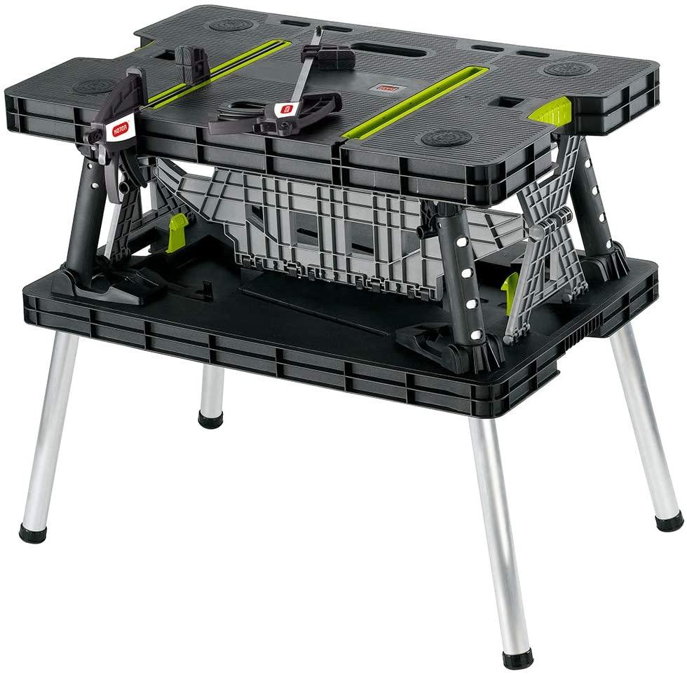 Keter Portable Folding Garage Workbench
