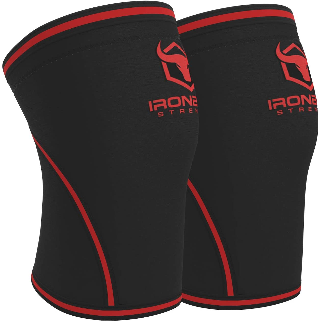 Iron Bull Strength Knee Sleeves 7mm (1 Pair)