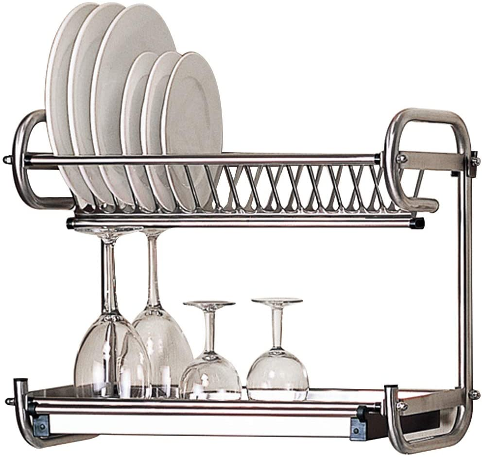 Kitchen Hardware Collection 2 Tier Dish Drying Rack