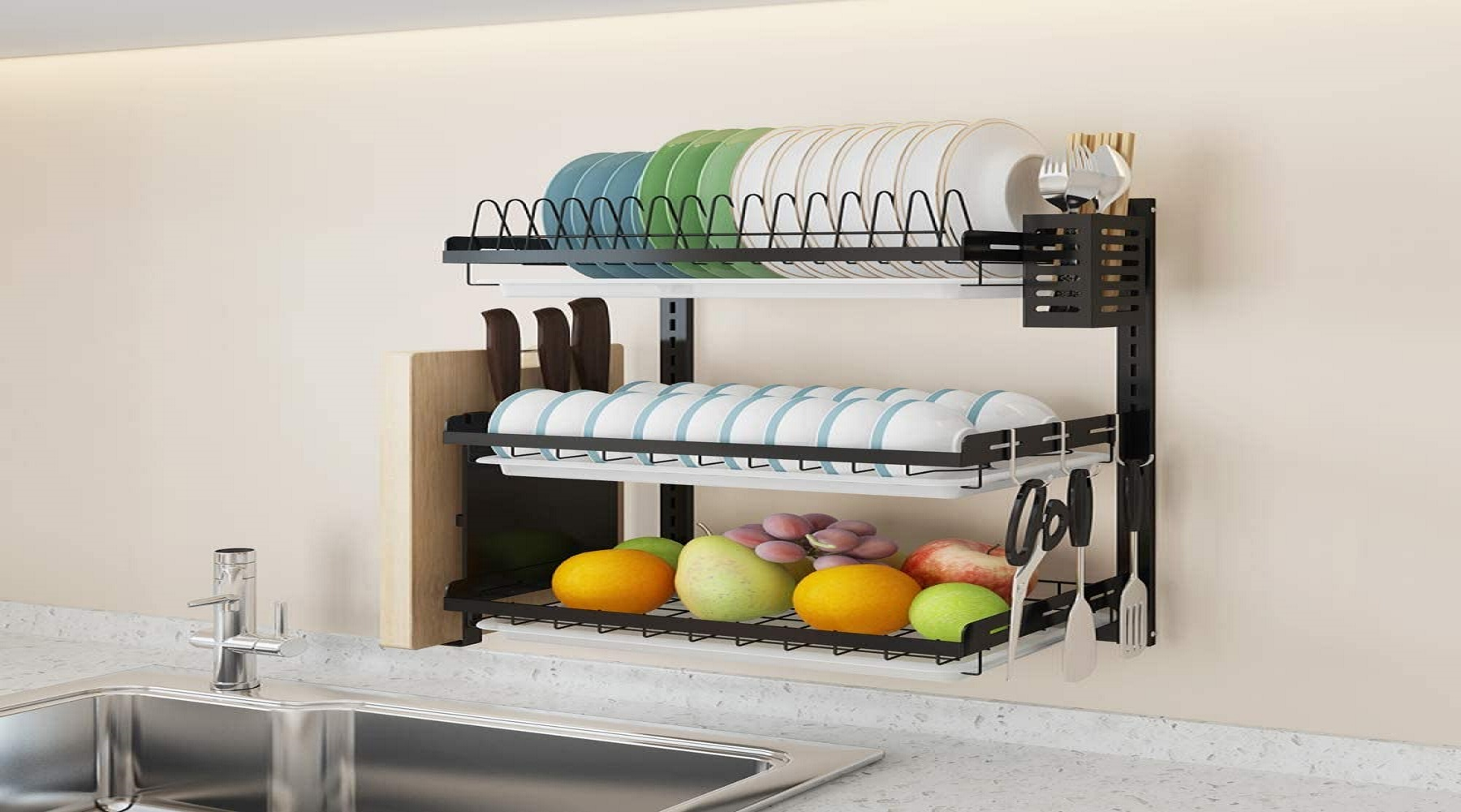 Best Wall Mounted Dish Rack
